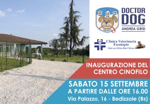 Inaugurazione del nuovo Centro Cinofilo Doctor Dog
