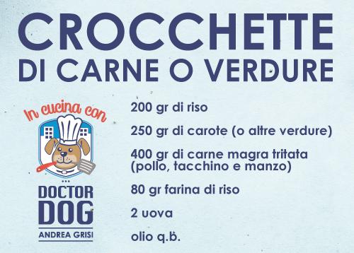 In Cucina Con Doctor Dog - Crocchette di Carne e Verdure