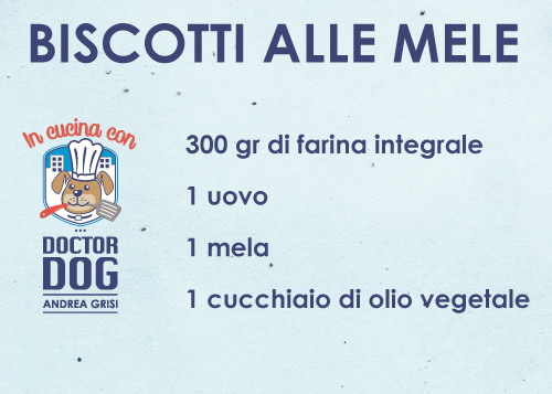 In Cucina Con Doctor Dog - Biscotti alle mele